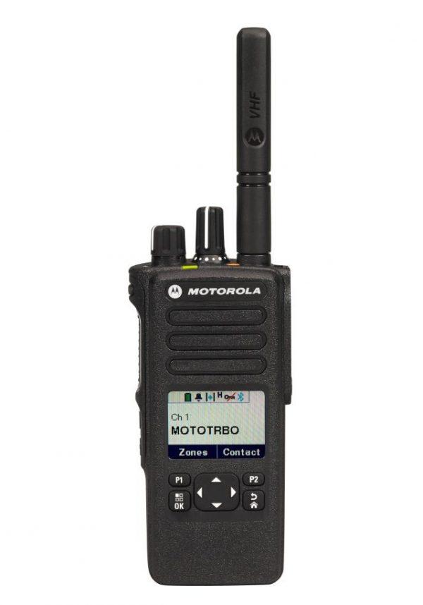 Портативная искробезопасная  радиостанция Motorola DP4601E UHF TIA