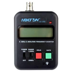 Портативный частотомер MAXTON X100