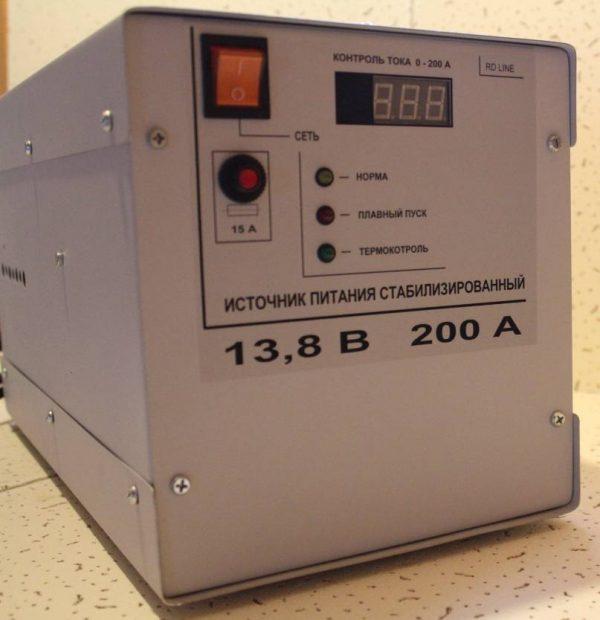 Источник питания стабилизированный ИПС 220/12/200M