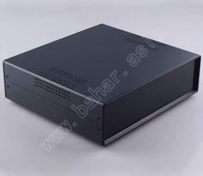 Корпус металлический для радиоаппаратуры BAHAR BDA 40009-A2-W250