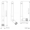 Антенна портативная JCG402 GSM/3G 4477