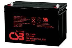 Аккумулятор гелевый CSB GP 121000