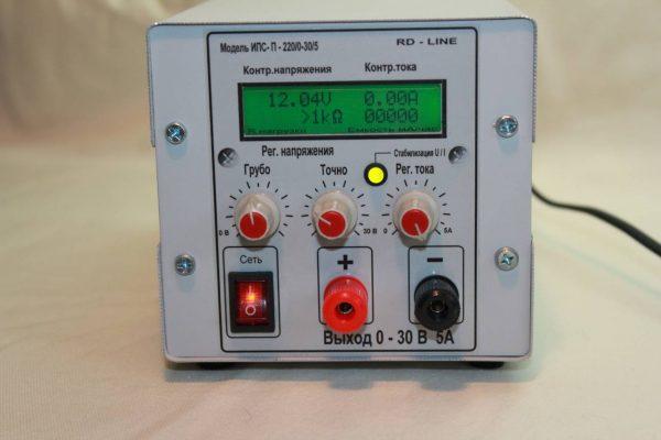 Источник питания лабораторный RD LINE ИПС-П-220/0-30/5