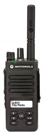 Портативная радиостанция Motorola DP2600E UHF TIA