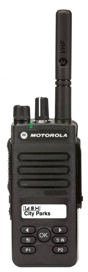 Портативная радиостанция Motorola DP2600E VHF TIA